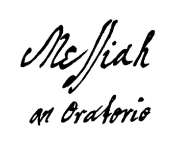 Messiah titlepage