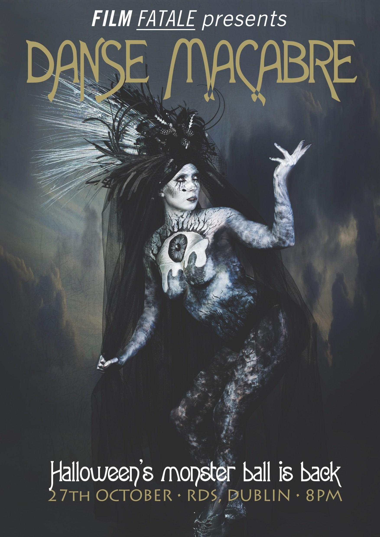 Danse Macabre Poster Portrait