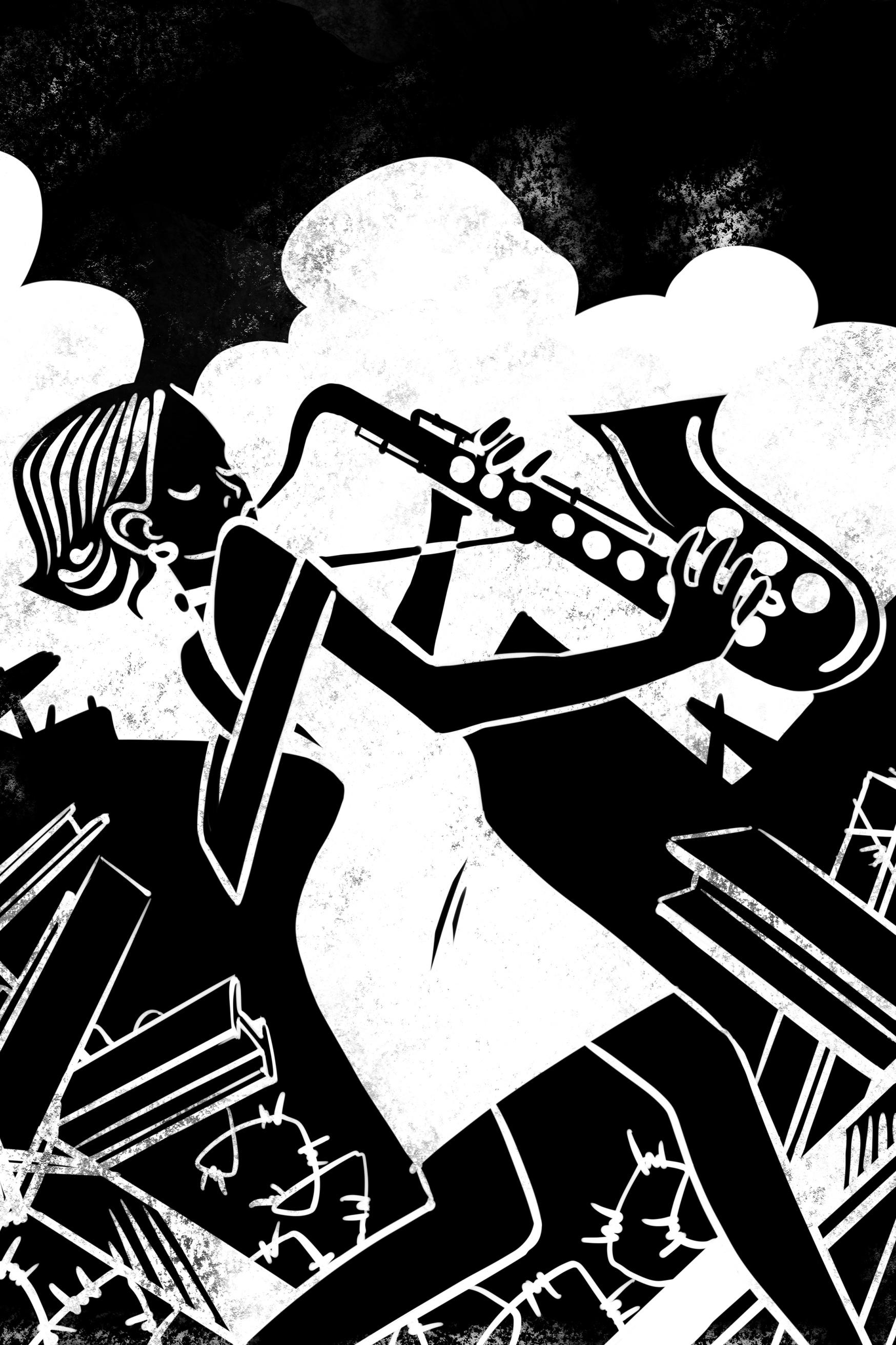 Portrait 02 Zandra Queen Of Jazz Eugene Korolkov